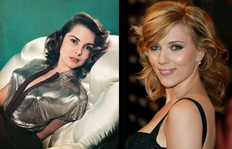 Janet Leigh e Scarlett Johansson