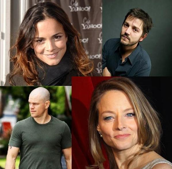 Elenco de Elysium: Alice Braga, Diego Luna, Matt Damon e Jodie Foster