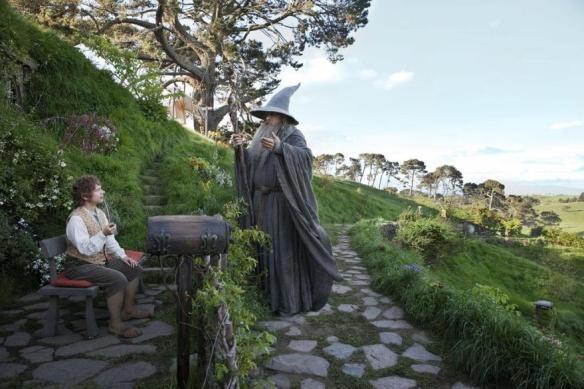 O Hobbit - Bilbo e Gandalf