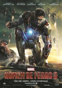 homem de ferro 3 - mini poster Homem de Ferro 003