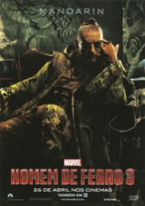 homem de ferro 3 - mini poster Mandarim 003