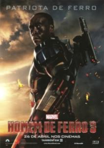 homem de ferro 3 - mini poster Patriota de Ferro 003