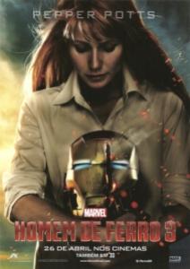 homem de ferro 3 - mini poster Pepper Potts 003
